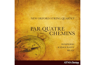 New Orford String Quartet - Par Quatre Chemins - (CD)
