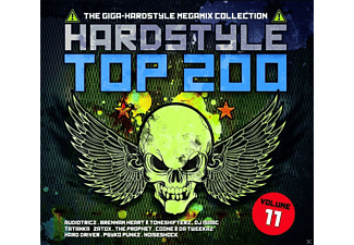 VARIOUS - Hardstyle Top 200 Vol.11 - (CD)