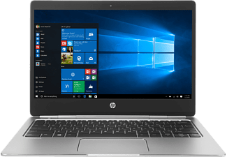 HP EliteBook Folio G1, Notebook mit 12.5 Zoll Display, Core™ m5 Prozessor, 8 GB RAM, 256 GB SSD, Intel HD-Grafikkarte 515, Silber