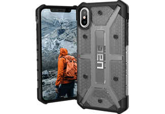 URBAN ARMOR GEAR Plasma Handyhülle, Ash/Black/Silver Logo, passend für Apple iPhone X