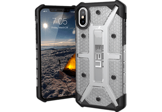 URBAN ARMOR GEAR Plasma Handyhülle, Ice/Black/Silver Logo, passend für Apple iPhone X