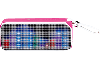 LENCO BT-191, Bluetooth Lautsprecher, Near Field Communication, Pink