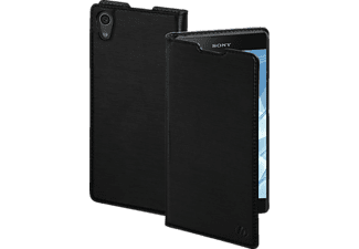 Slim Bookcover Sony Xperia XA1 Plus High-Tech-Polyurethan Schwarz