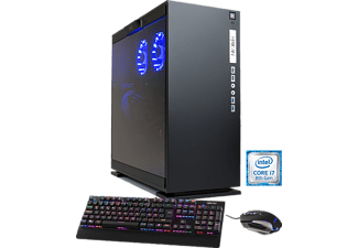 HYRICAN ELEGANCE-X 5778 BLACK I7-8700K/16GB/240GB SSD+2TB, Gaming PC mit Core™ i7 Prozessor, 16 GB RAM, 240 GB SSD, 2 TB HDD, GeForce® GTX 1080 Ti, 11 GB GDDR5 Grafikspeicher