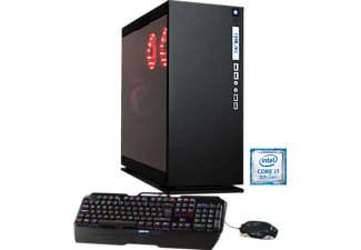 HYRICAN ELEGANCE-X AORUS 5802 BLACK I7-8700K/64GB/1TB+4TB, Gaming PC mit Core™ i7 Prozessor, 64 GB RAM, 1 TB SSD, 4 TB HDD, Aorus Geforce® GTX 1080 Ti Xtreme Edition, 11 GB GDDR5 Grafikspeicher