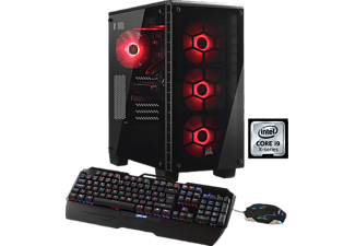 HYRICAN CRYSTAL AORUS 5618 I9-7900X/32GB/1TB+4TB, Gaming PC mit Core™ i9 Prozessor, 32 GB RAM, 1 TB SSD, 4 TB HDD, Aorus Geforce® GTX 1080 Ti Xtreme Edition, 11 GB GDDR5 Grafikspeicher