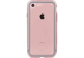 MOSHI iGlaze Handyhülle, Rose Pink, passend für Apple iPhone 7