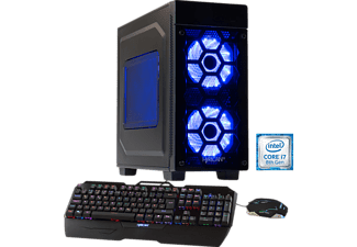 HYRICAN STRIKER-X 5761 BLUE I7-8700K/16GB/240GB+2TB, Gaming PC mit Core™ i7 Prozessor, 16 GB RAM, 240 GB SSD, 2 TB HDD, Geforce® GTX 1080, 8 GB GDDR5 Grafikspeicher