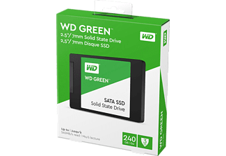 WD GREEN 3D NAND, 240 GB SSD, 2.5 Zoll, intern