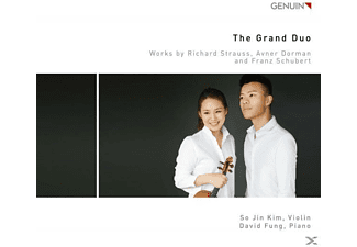 Jo Jin Kim, David Fung - The Grand Duo-Violinsonaten - (CD)