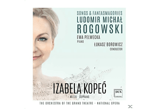 Izabela Kopeć, Ewa Pelwecka, The Orchestra of the Grand Theatre - National Opera of Warsaw - Songs & Fantasmagories - (CD)