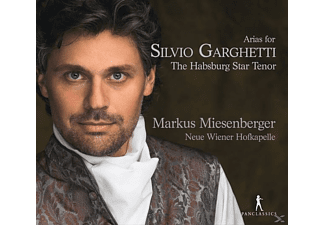 Neue Wiener Hofkapelle - Arias for Silvio Garghetti-The Habsburg Star Tenor - (CD)