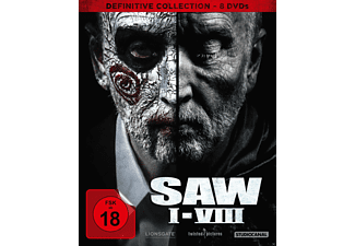 SAW I-VIII / Definitive Collection - (DVD)