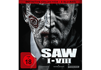 SAW I-VIII / Definitive Collection - (Blu-ray)
