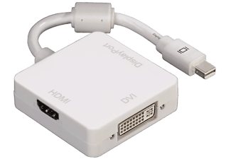 HAMA mini-DisplayPort-adapter 3 in 1 (53245)