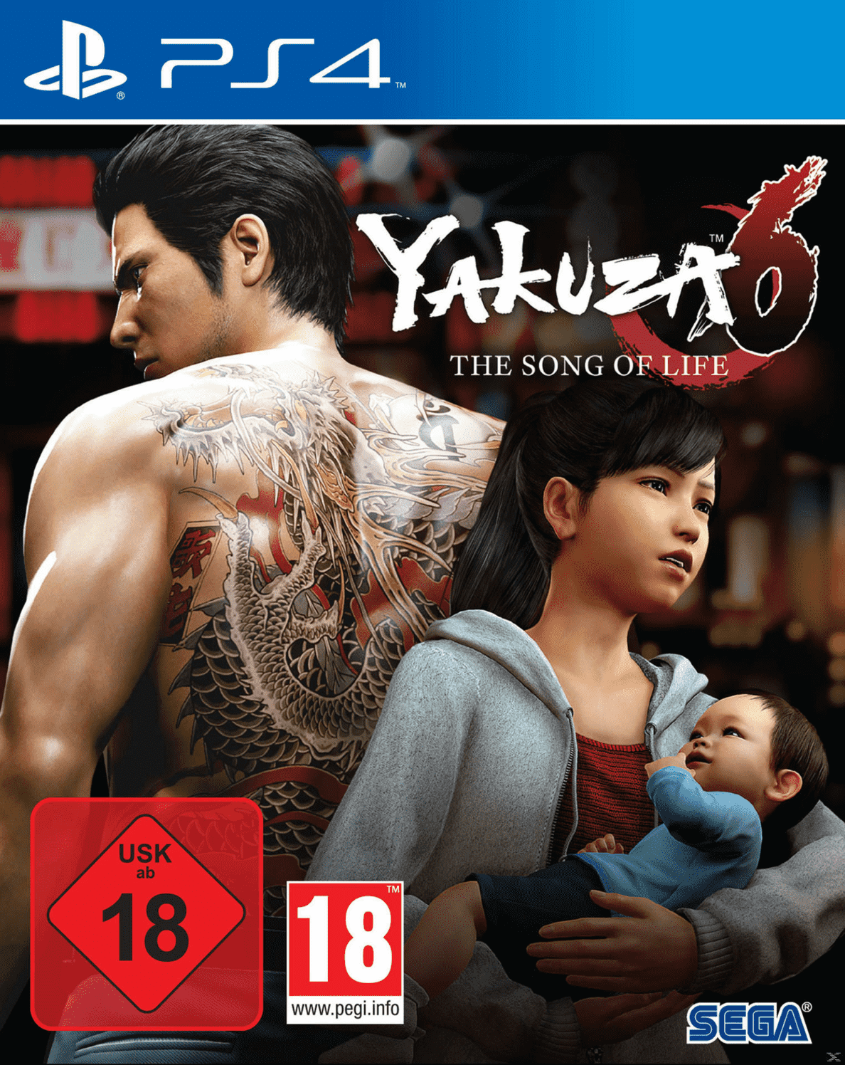 Yakuza 6 The Song of Life - Essence of Art Edition für PlayStation 4 online
