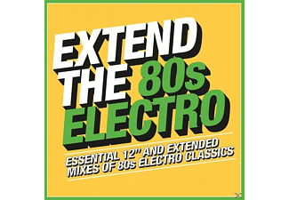 VARIOUS - Extend The 80s - Electro - (CD)