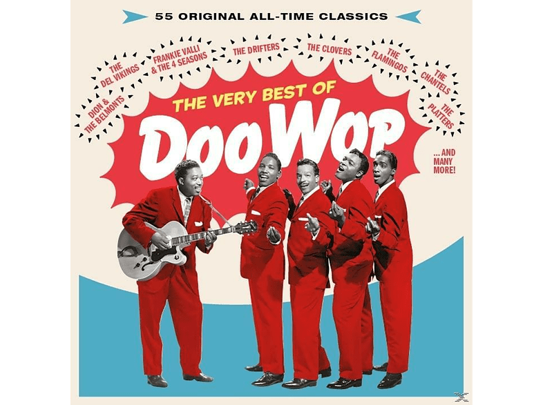 Various - THE VERY BEST OF DOO WOP-55 ORIGINAL ALL-TIME CL [CD]