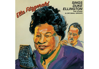Ella Fitzgerald - Sings Duke Ellington-The Studio & Live Small Gro - (CD)