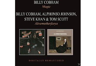 Billy Cobham, Alphonso Johnson, Steve Khan, Tom Scott - Magic/Alivemutherforya - (CD)