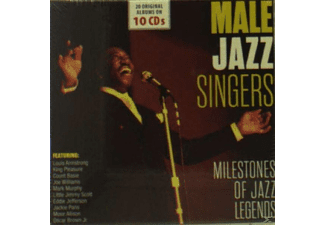 VARIOUS - Male Jazz Singers - (CD)