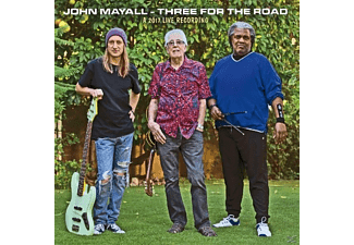 John Mayall, Greg Rzab, Jay Davenport - Three For The Road - (CD)