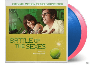 OST/VARIOUS - Battle Of The Sexes (ltd blaues & pinkes Vinyl) - (Vinyl)