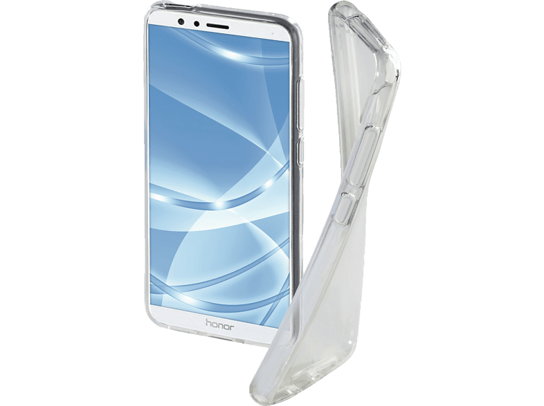 HAMA Crystal Clear , Backcover, Honor, 7X, Thermoplastisches Polyurethan, Transparent
