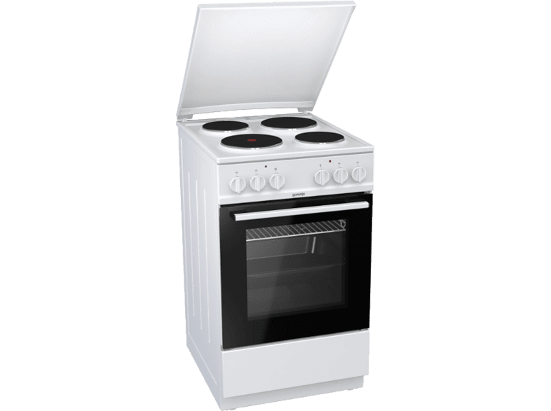 Gorenje E5121WH electric cooker with electric hob