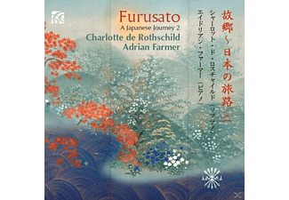 Rothschild,Charlotte De/Farmer,Adrian - Furusato: A Japanese Journey 2 - (CD)