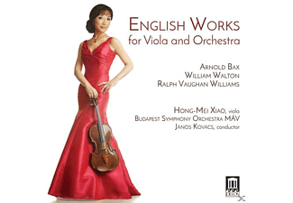 Hong-mei/kovacs/budapest So Mav Xiao - English Works for Viola and Orchestra - (CD)