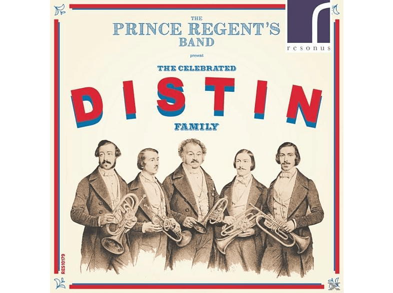 The Prince Regent's Band - The Celebrated Distin Family [CD]