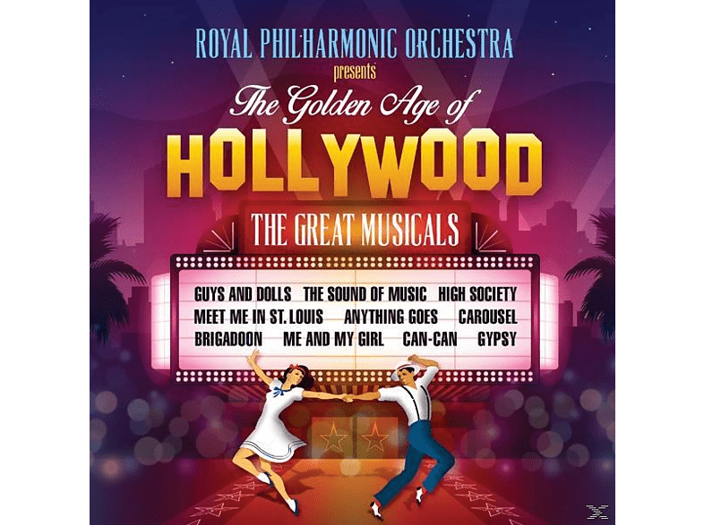 Richard/rpo Balcombe - The Golden Age of Hollywood: The Great Musicals [CD]