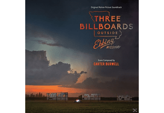 Burwell Carter - Three Billboarders outside Ebbing,Missouri - (CD)