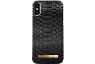 IDEAL OF SWEDEN Fashion Backcover Apple iPhone X Black Reptile