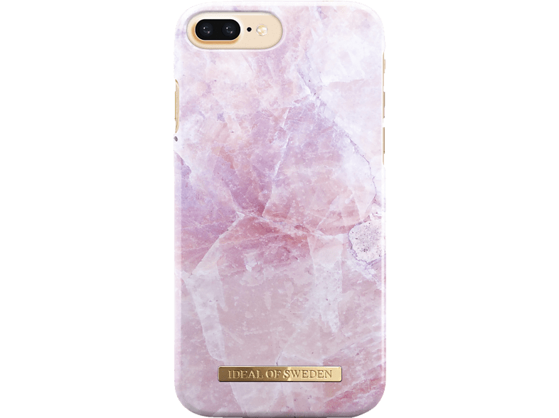 IDEAL OF SWEDEN Fashion , Backcover, Apple, iPhone 6 Plus, iPhone 7 Plus, iPhone 8 Plus, Kunststoff/Mikrofaser, Pink Marble