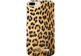 IDEAL OF SWEDEN Fashion Handyhülle, Wild Leopard, passend für Apple iPhone 6 Plus, iPhone 7 Plus, iPhone 8 Plus