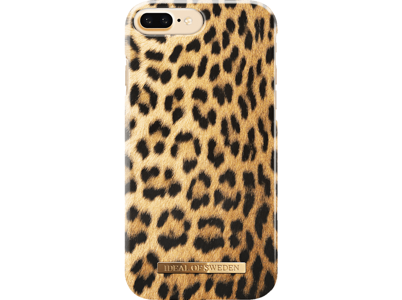 IDEAL OF SWEDEN  Fashion Backcover Apple iPhone 6 Plus, iPhone 7 Plus, iPhone 8 Plus Kunststoff/Mikrofaser Wild Leopard | 07350068392993