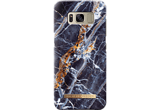 IDEAL OF SWEDEN Fashion Galaxy S8 Handyhülle, Midnight Blue Marble