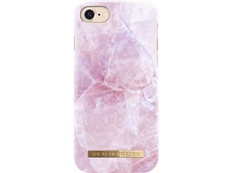 IDEAL OF SWEDEN Fashion , Backcover, Apple, iPhone 6, iPhone 7, iPhone 8, Kunststoff/Mikrofaser, Pink Marble
