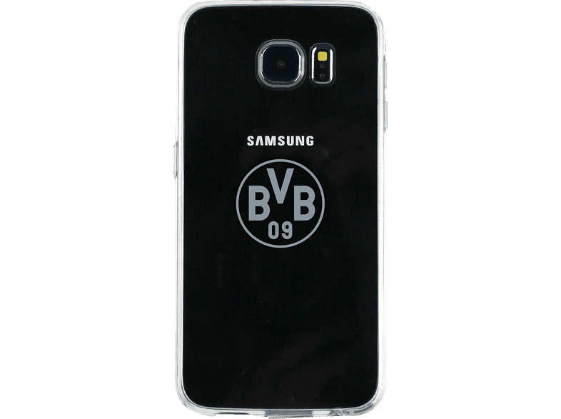 ICANDY Borussia Dortmund , Backcover, Samsung, Galaxy S6, 53 % Polycarbonate, 47 % Thermoplastisches Polyurethan, Transparent