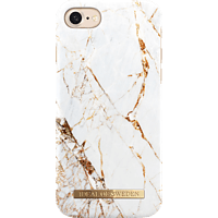 IDEAL OF SWEDEN Fashion , Backcover, Apple, iPhone 6, iPhone 7, iPhone 8, Kunststoff/Mikrofaser, Carrara Gold