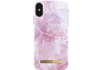 IDEAL OF SWEDEN Fashion Handyhülle, Apple iPhone X, Pink Marble