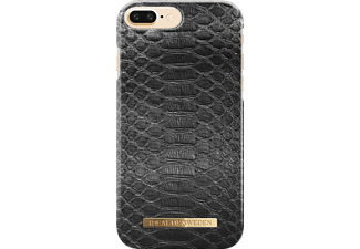 IDEAL OF SWEDEN Fashion Handyhülle, Black Reptile, passend für Apple iPhone 6 Plus, iPhone 7 Plus, iPhone 8 Plus
