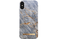 IDEAL OF SWEDEN Fashion Backcover Apple iPhone X Kunststoff/Mikrofaser Grey Marble