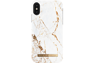 IDEAL OF SWEDEN Fashion Backcover Apple iPhone X Kunststoff/Mikrofaser Carrara Gold
