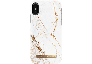 IDEAL OF SWEDEN Fashion Handyhülle, Carrara Gold, passend für Apple iPhone X