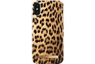IDEAL OF SWEDEN Fashion Backcover Apple iPhone X Kunststoff/Mikrofaser Wild Leopard