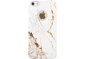 IDEAL OF SWEDEN Fashion Handyhülle, Carrara Gold, passend für Apple iPhone SE