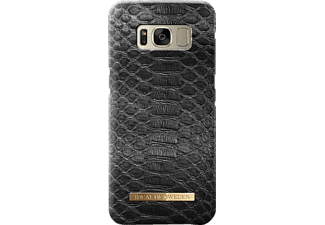 IDEAL OF SWEDEN Fashion Galaxy S8 Handyhülle, Black Reptile